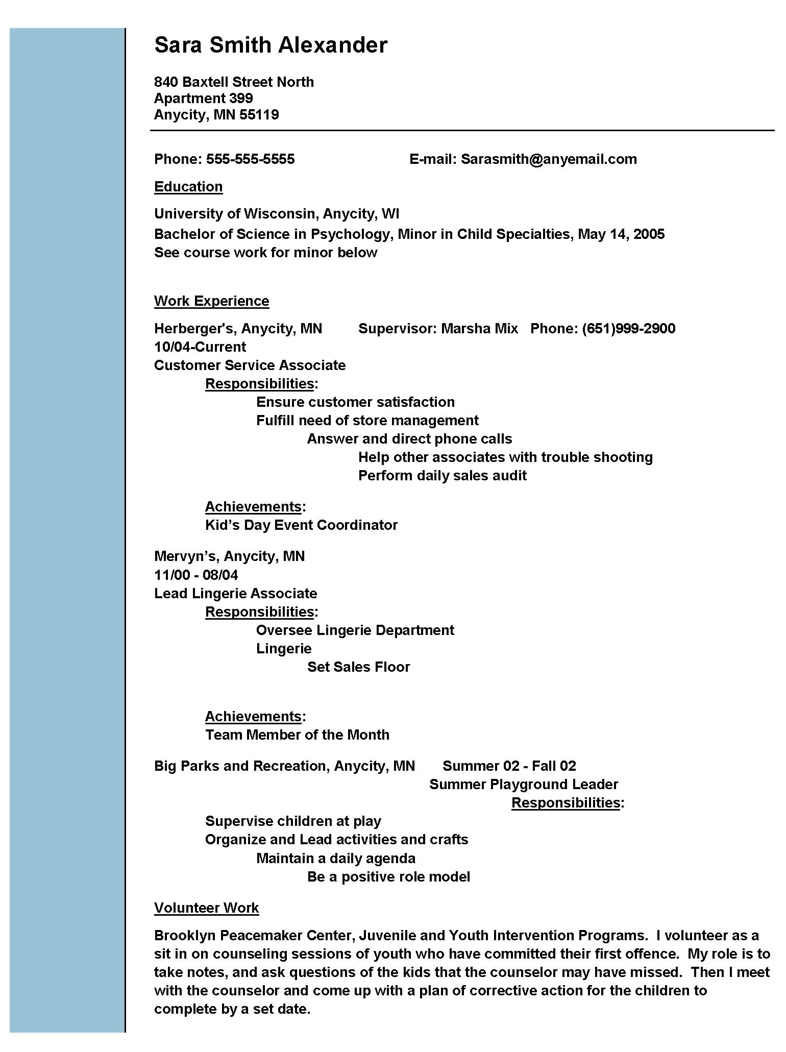 social worker work free sample resumes examples job